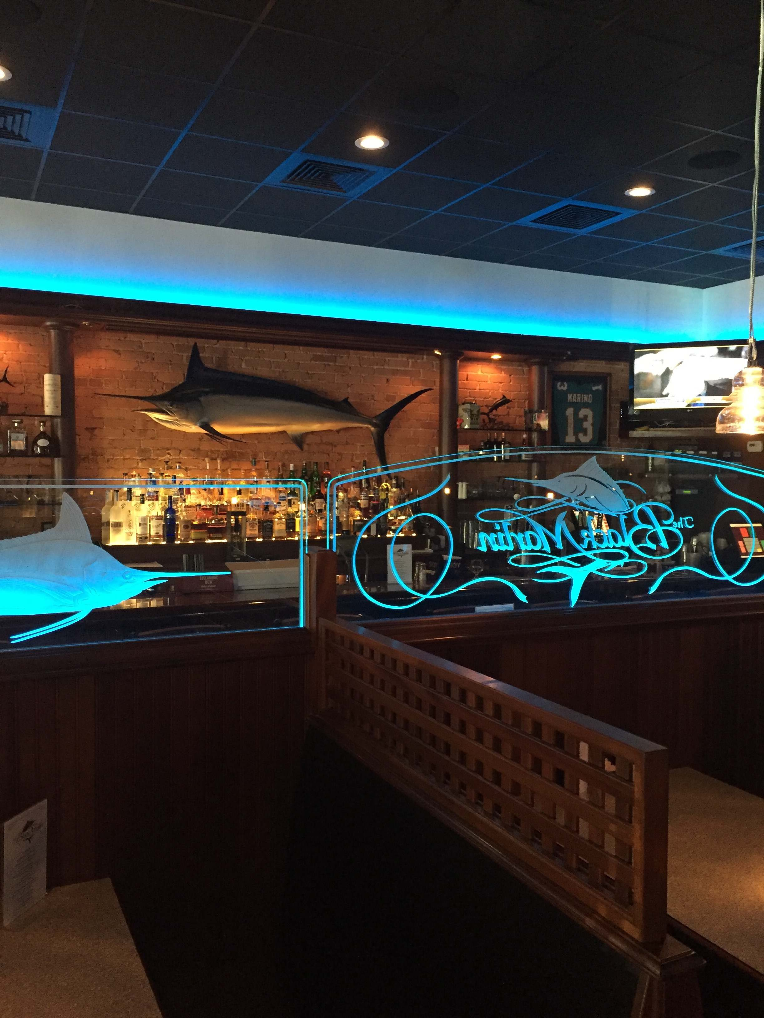 The Black Marlin Seating - 2016